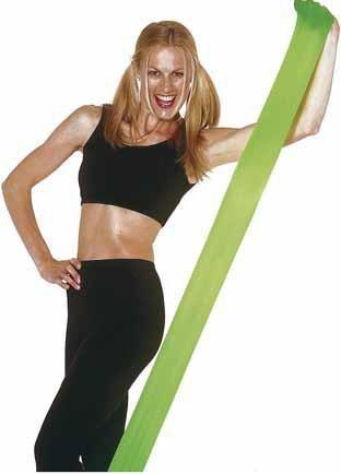 Trainingsband Physio Tape 2,40 m, grün, leicht