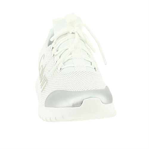 Calvin Klein Jeans Ron Mesh/Brushed Metal, Sneakers Basses Homme Argent (Wsi 000)