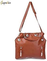 ELECTROPRIME Fashion PU Leather Handbag Satchel Shoulder Tote Messenger Hobo Bags Purse Women