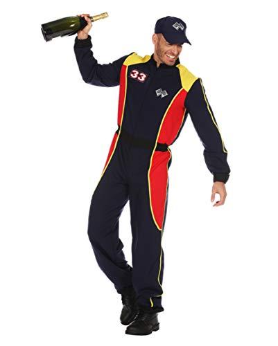 Horror-Shop Rennfahrer Kostüm Anzug für Herren an Karneval - Speed Racer Kostüm Für Erwachsene