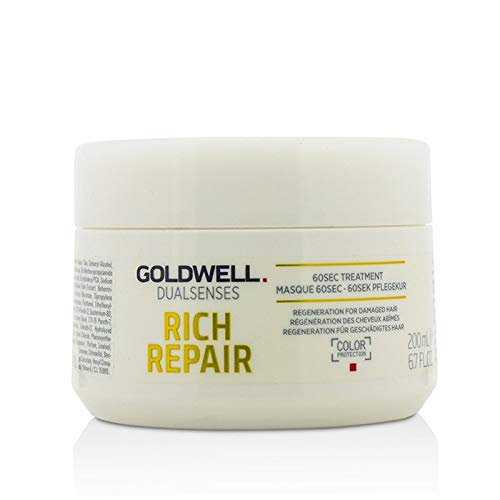 Goldwell Dualsenses Rich Repair Rest Oring 60sec. Treatment, 1er Pack (1 X 200 ML)