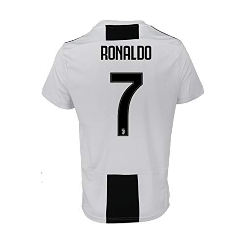 detailed look 27bfb 566cb SALLARM Juventus  7 T-Shirt Maillot de Football Cristiano Ronaldo 7 CR7 Homme  Maillot
