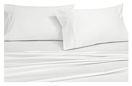 Xl Satin Streifen (Royal Hotel Massiv 600-thread-count Bed Sheet Set 100 Prozent Baumwolle, Satin Solid, Deep Pocket Twin XL Weiß)