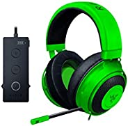 Razer Kraken Pro V2: Lightweight Aluminum Headband - Retractable Mic - In-Line Remote - Gaming Headset Works W