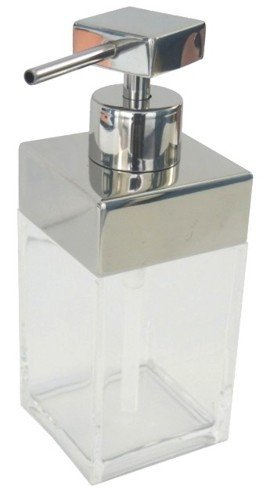 MAURER 5421510 Dispensador Acrilico Inoxidable Transparente