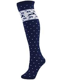 Manbi Pattern Thermal Ski Socks