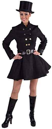 Kostüm Schornsteinfeger - narrenkiste M216125-L schwarz Damen Schornsteinfeger Kaminfeger Kostüm Gr.L