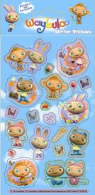 Waybuloo Glitter Stickers (1 sheet)