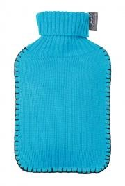 fashy-32-x-195-x-45-cm-671551-blue-acrylic-knitted-cover-hot-water-bottle-2-l