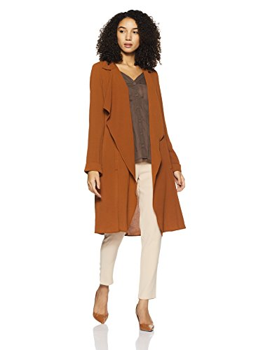 Forever 21 Women's Jacket (214696_Rust_Small)
