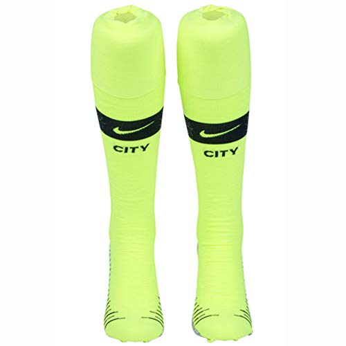 e1afa129e0 Nike 2018 19 Manchester City FC Stadium Home Away OTC Chaussettes Mixte  Adulte