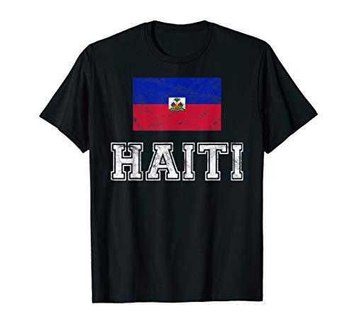 Haiti Flagge I Ayiti Männer Frauen Kinder T-Shirt -