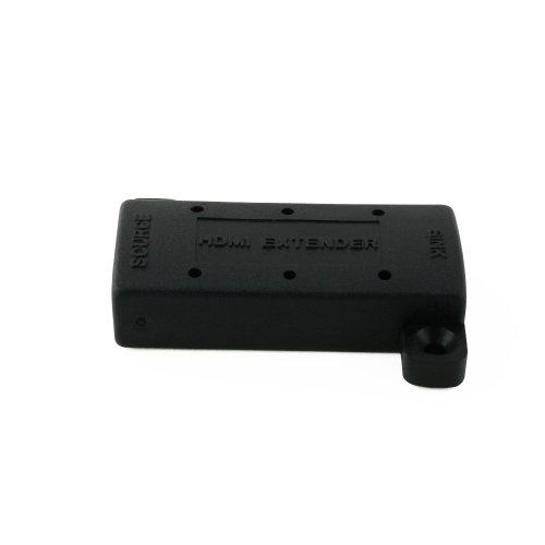 Cablesson EQ HDMI Repeater Extender Booster Adapter - Sended Signale bis 50m, unterstützt 1080p, 3D, Ultra HD, HDTV - Aktiv Equalizer - für Sky HD und andere Boxen, PS4, DVD und mehr- schwarz