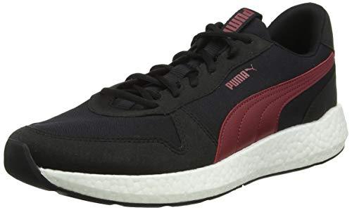 PUMA NRGY Neko Retro, Zapatillas de Running para Hombre, Black-Rhubarb, 40 EU