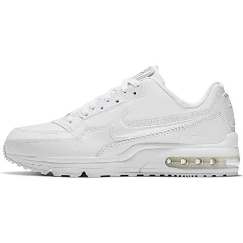 Air Leder (Nike Herren AIR MAX LTD 3 Traillaufschuhe Weiß White 111, 43 EU)
