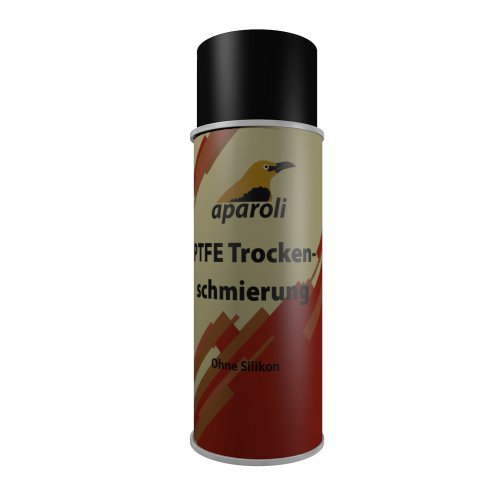 Aparoli 840899 PTFE Trockenschmierung ohne Silikon, 400 ml, Gleit- und Schmiermittel