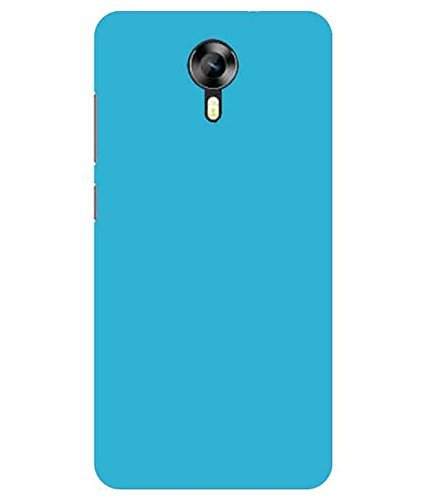WOW Imagine(TM) Rubberised Matte Hard Case Back Cover For MICROMAX CANVAS XPRESS 2 E313 (Sky Blue)  available at amazon for Rs.129