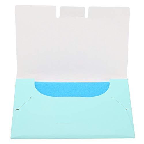 100pcs Oil AbsorbingTissues Oil Control Film Clean Clear Oil fogli assorbenti per la cura della pelle grassa carta assorbente assorbente di olio fogli(verde)