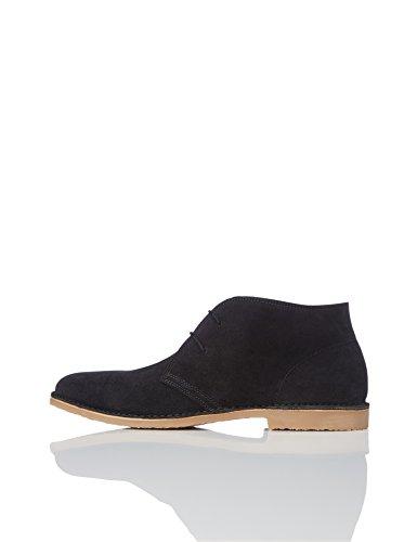find. Herren Desert Boots aus Wildleder, Schwarz (Black), 43 EU Wildleder Schuhe