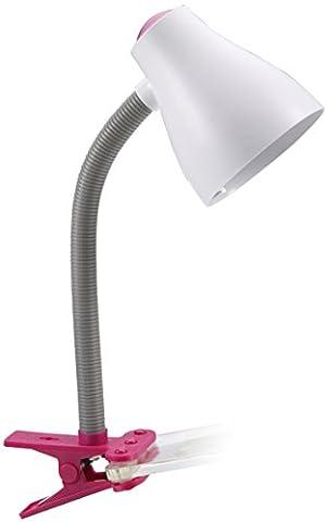 Ranex 1001167 Lampe de Bureau à Pince sans Ampoule