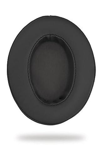 Ohrpolster Brainwavz HM5 - Kunstleder - gerade - schwarz (earpads - pleather - not-angled - black)