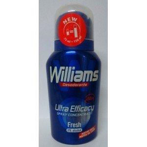 3 x Williams deo 75 ml concentrado equivale 150 ml