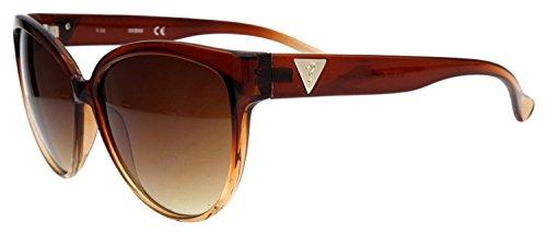 Guess Damas Gafas de sol Marrón GUF220-BRN-34