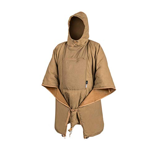 Helikon-Tex Swagman Roll Poncho Outdoor Survival Bushcraft Jagd Coyote Poncho Liner