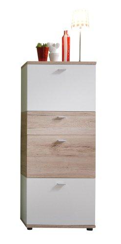 Preisvergleich trendteam garderobe schuhschrank for Garderobe 35 cm