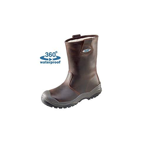 Lupriflex Lupriflex 1 Paar Aqua Offshore Winter Wasserdichter Winter Sicherheits-Schlupfstiefel, S3, Schuhweite 11,5 Braun Größe 41