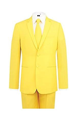 Costumes De Luxe Pour Homme Halloween - Costume jaune-50