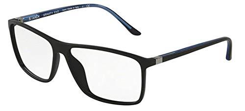 STARCK Eyes Brillen 0SH3030 MATTE BLACK Herrenbrillen