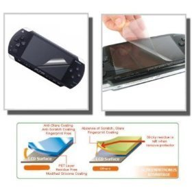 Cable4Less For Sony Psp Lcd Screen Protector Anti Scratch Guard