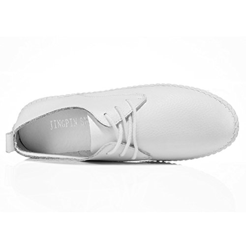 Zehen Sommer Runde Einfache Damen Kurzschaft Flach Sneakers On Slip Weiß Gemütliche Beiläufige Schnüren Frühling Und xaUBqBw1Y