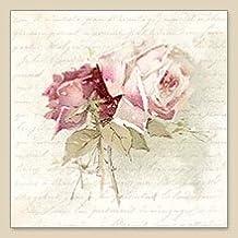 Servilletas de papel para decoupage. tamaño33 x 33 cm. 20 unidades por paquete. Modelo Ramo de Rosas