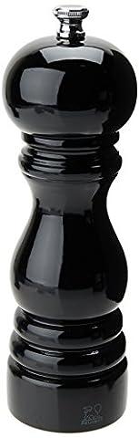 Peugeot Paris schwarz lackiert - 18 cm - Salzmühle