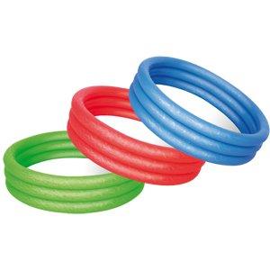 Bestway Splash und Play 3Ring Pool 121,9x 25,4cm, Farbe kann variieren nur One geliefert werden, wird aus blau, grün oder rot