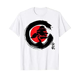 Buddhist Zen Bonsai Tree Clothing & Apparel - Bonsai Tree  T-Shirt