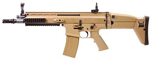 FN Scar L Tan Cybergun ABS/Couleur désert/électrique (0.5 Joule)-Semi/Full Automatique