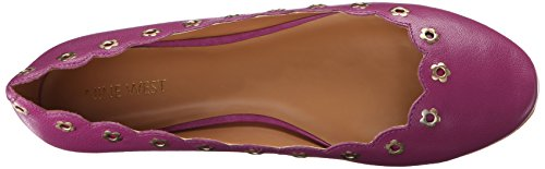 Nine West mintchip Leather Ballet Flat purple