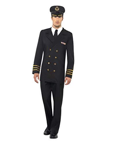 Navy Uniform Kostüm Officer - US-Navy Offizier Herrenkostüm L