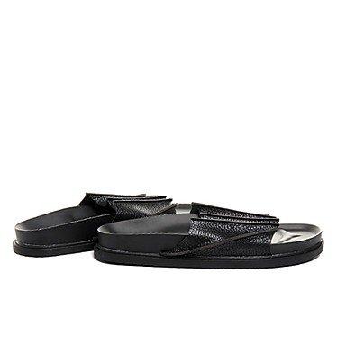 Winterstiefel FrauenPU -beiläufige Keilabsatz Sandalen Feder Sandalen US7.5 / EU39 / UK6.5 / CN40