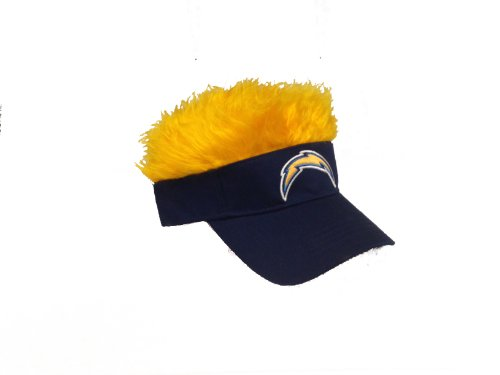 nfl-san-diego-chargers-flair-hair-adjustable-visor-navy-by-northwest