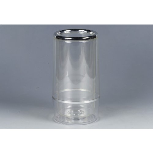 Flaschenkühler Acryl H23cm