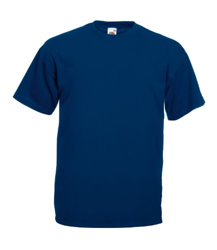 Fruit of the LoomHerren T-Shirt Blau - Navy