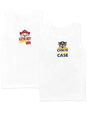 Paw Patrol Camiseta de Tirantes Paquete de 2 para Niños La Patrulla Canina