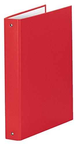 Esselte raccoglitore a 4 anelli, formato a4 maxi, dorso 4 cm, cartone rivestito in polipropilene, rosso vivida, meeting, 395792920
