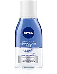 Nivea Démaquillant Yeux Double Action 125 ml - Lot de 2