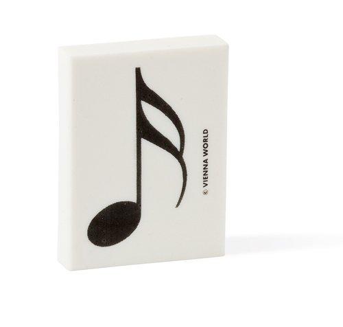 Gomme Note Double Croche Musique Couleur Noir Et Blanc Music Gifts