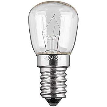 Freezer Fridge Bulb E17 Base Warm White Light Lamp 220V